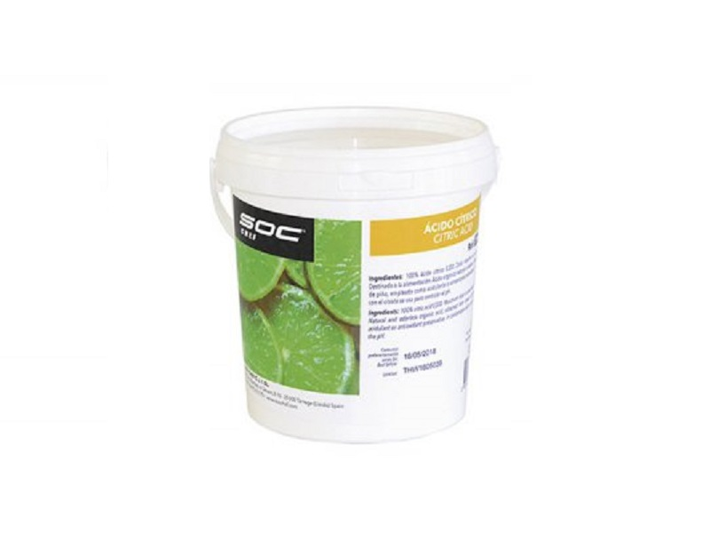 ACID CITRIC CRISTAL·LITZAT POT 600 g.